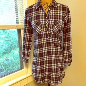 Aerie Flannel night shirt